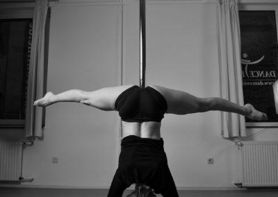 poledance handstand
